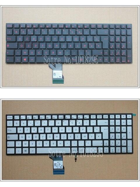 New FR backlit keyboard for ASUS UX52 UX52A N541 N541L N541LA Q501 Q501L Q501LA Q551 Q551L Q551LB Q551LN French Laptop keyboard