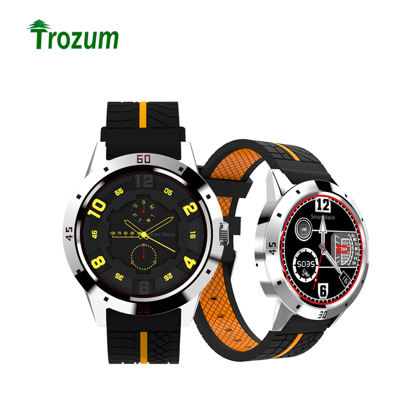 Trozum free shipping N6 Bluetooth Heart Rate Smart Watch with Pedometer Sport Fitness Tracker Smartwatch for IOS Android