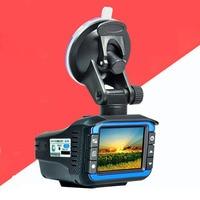 Russian Voice 3 In 1 Car DVR Camera recorder Anti Radar Detector Laser Built in Alarm