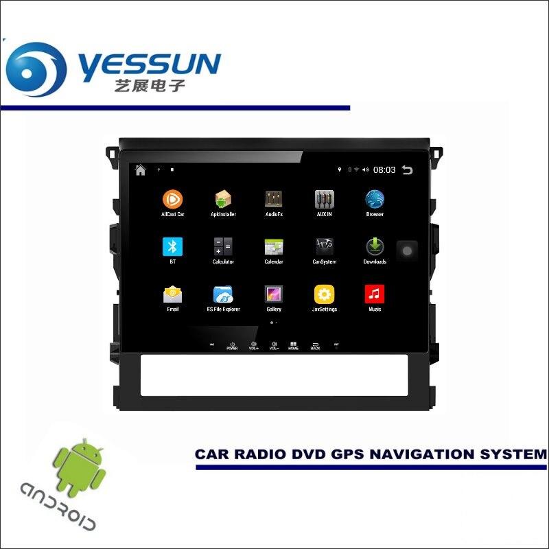 YESSUN Car Android Player Multimedia For Toyota FJ Cruiser Radio Stereo GPS Map Nav Navi Navigation ( no CD DVD ) 10 HD Screen
