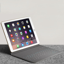 Wireless Bluetooth 3.0 Mini Keyboard Slim Rechargeable Keypad Protect PU Leather Case for iPad 2 3 4 air / air2  9.7 inch Tablet