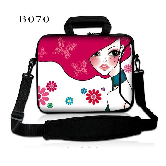 Pink Lady Notebook bag 15.6 15 14 13.3 inch shoulder men and women computer bag 2016 new Fashion handbag Messenger Laptop bag