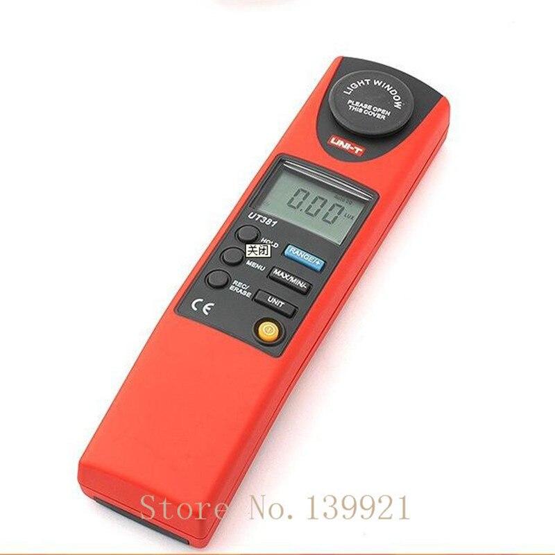 UNI-T UT381 Handheld Digital Luminometer / Luxmeter /  Light Meter 0~20000LuxUNI-T UT381 Handheld Digital Luminometer / Luxmeter /  Light Meter 0~20000Lux