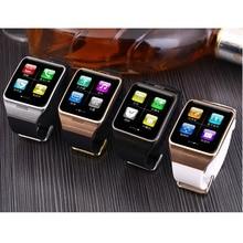 2016 heißer smart watch lg128 smartwatch mit wearable nfc, unterstützung Sim-karte 1.3mp Kamera Fernbedienung Erfassen Schlaf-monitor Armbanduhr
