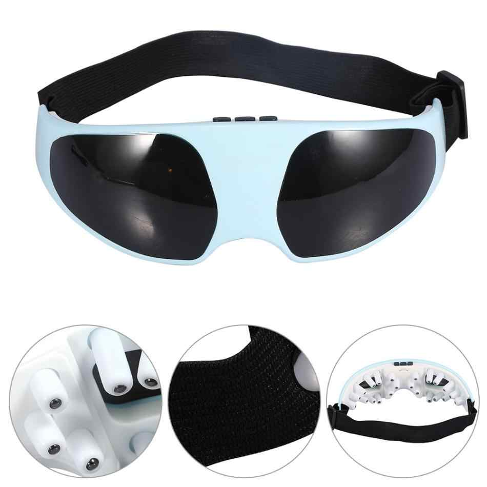 c906146e194 Electric Eye Massager Migraine Mask Alleviate Fatigue Forehead Acupressure  Relax Eye Care Massager Magnetic Therapy Eye
