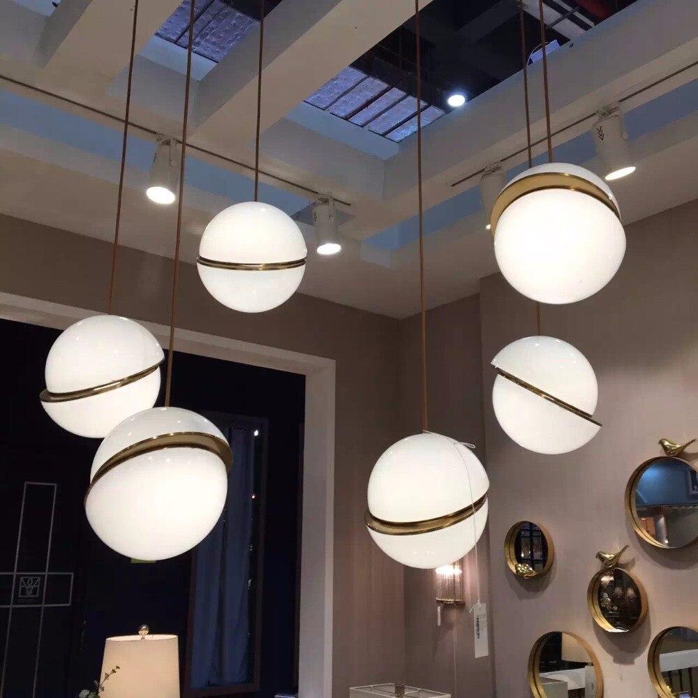 Opkmb Decoration Pendant Lamp For Bedroom Fashion Design Bal Pendant Light For Hotel/living Room Pendant Lights