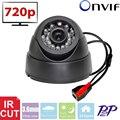 Vanxse CCTV 24 Leds IR-CUT câmera 1.0MP 720 P Indoor Dome Câmera de Vigilância De Segurança De Rede IP