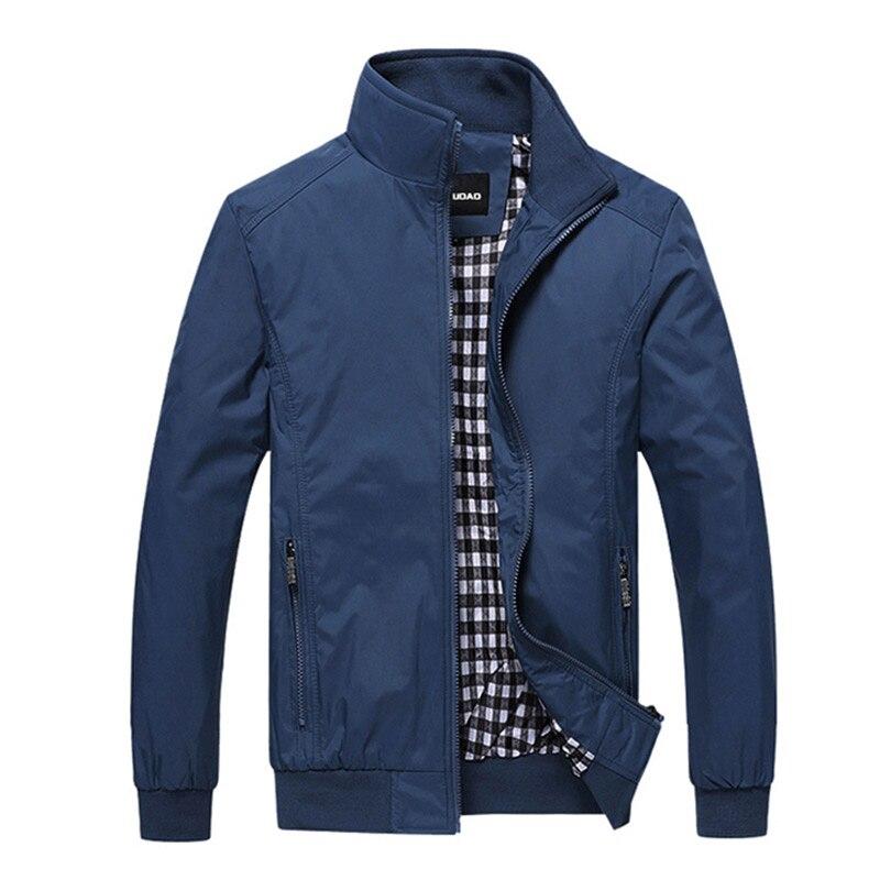 Nouveau 2017 Veste Hommes Mode Casual Lâche Mens Veste Bomber Veste Mens vestes et Manteaux 4XL 5XL