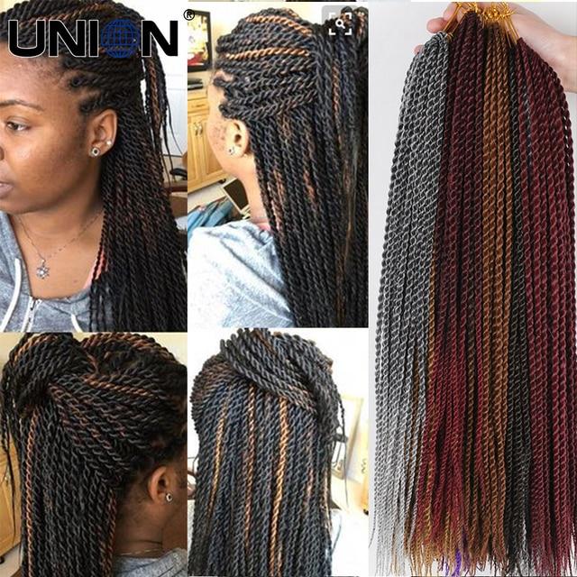 Aliexpress Buy Senegalese 22inch Crochet Twist Hair Synthetic