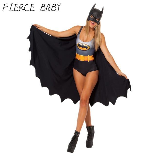 2017 Summer Batman Swimsuit Women Full Body Swimwear Beachwear Sexy Plus Size Bodysuit Thong Junior Brazilian  sc 1 st  AliExpress.com & 2017 Summer Batman Swimsuit Women Full Body Swimwear Beachwear Sexy ...