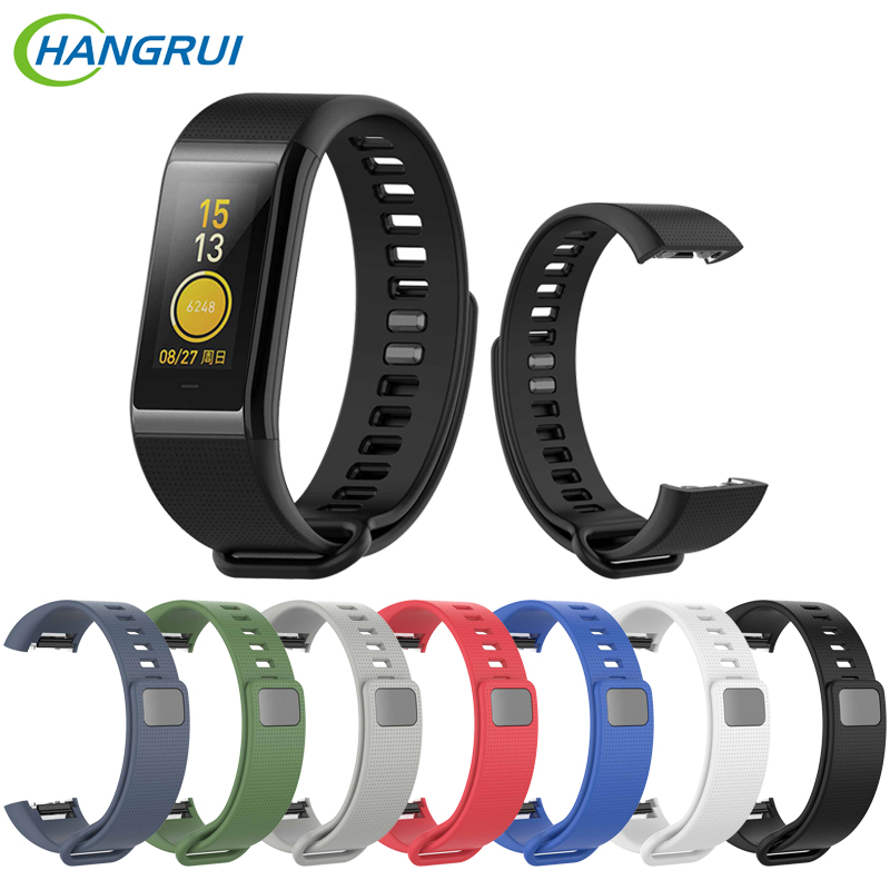 Hangrui Sillicone Watch Strap For Huami Amazfit Cor Replacement Comfy Colorful Bracelet Watchband For Huami Amazfit Cor Band