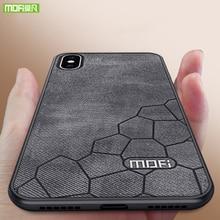 MOFI For iPhone XS Max Case Luxury Hard Back Cover For iphone XS Max Case Original Fabric Shockproof Matte X 360 Shell New Funda