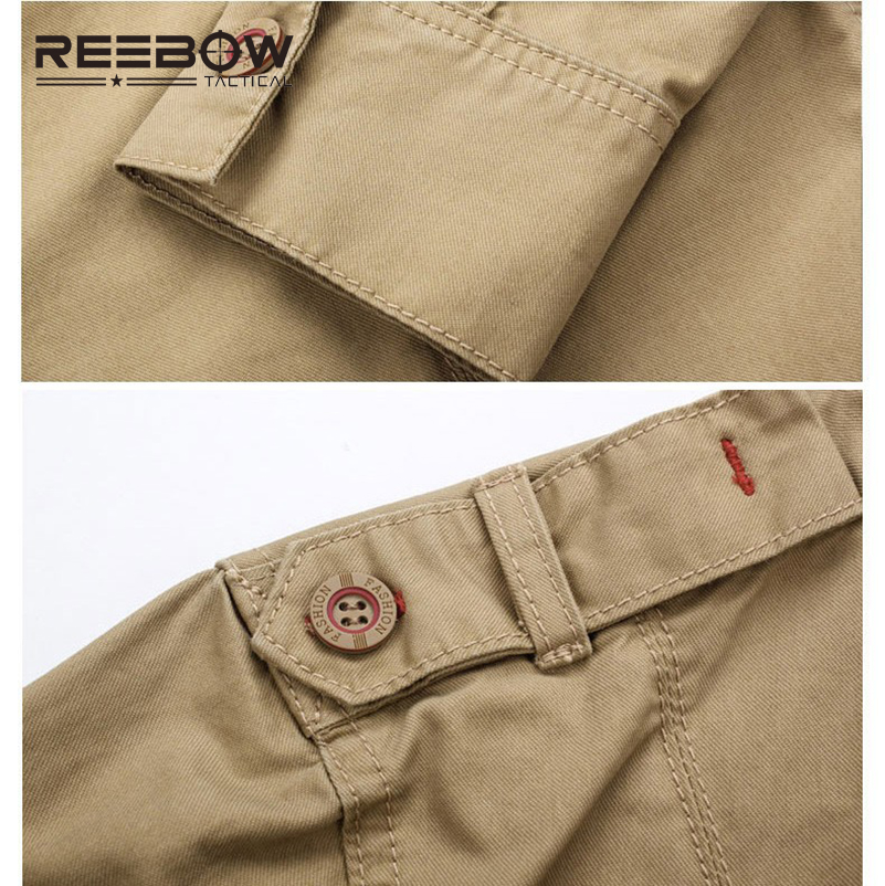 REEBOW TACTICAL Men Autumn Military Outdoor Hiking Shirts Long Sleeve - Sportswear and Accessories - Photo 5