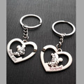 Inner diameter 1.8CM,New Arrival 2016  Small Gift Lovers Buckle Wedding Gifts Couple Key Chain Love Key Chain KEY-0154