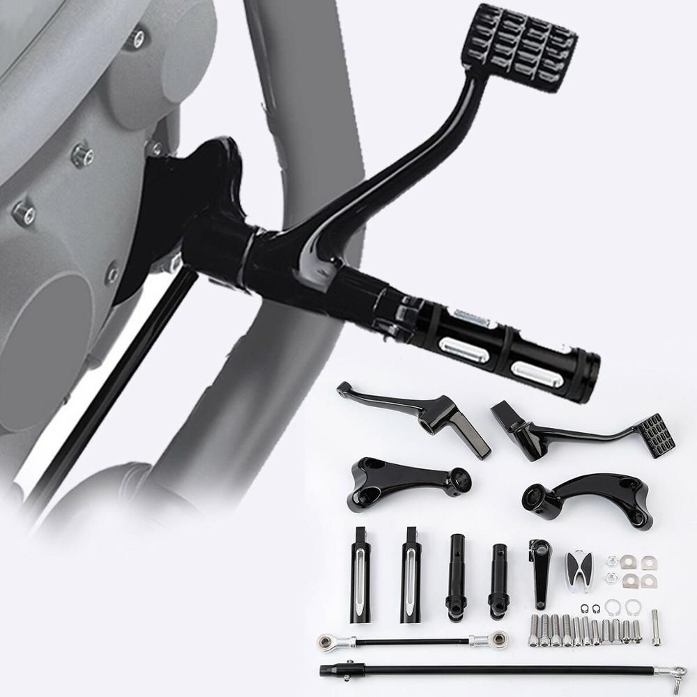 Motorcycle Forward Controls Foot Peg Levers Linkage For Harley Sportster XL 1200 883 Super Low 14-18 Forty Eight