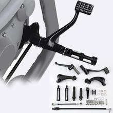 лучшая цена Motorcycle Forward Controls Foot Peg Levers Linkage For Harley Sportster XL 1200 883 Super Low 14-18 Forty Eight