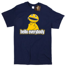 Zippy Inspired Hello Everybody T-shirt - Retro Kids TV Show Rainbow NEW Mans Unique Cotton Short Sleeves free shipping