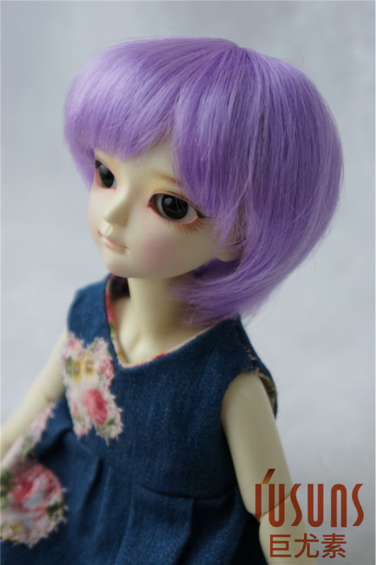 1/6 BJD wigs  YOSD Short BOBO doll wigs for Lati yellow doll  6-7inch BJD doll accessories Kanekalon Fiber doll hair