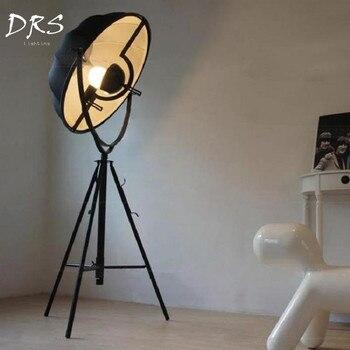 Fortuny fotografia lampy podłogowe nowoczesne z dostępem do kanałów satelitarnych Studio tkaniny abażur piętro pokój dzienny zapala światło muzeum Hotel oświetlenie domu