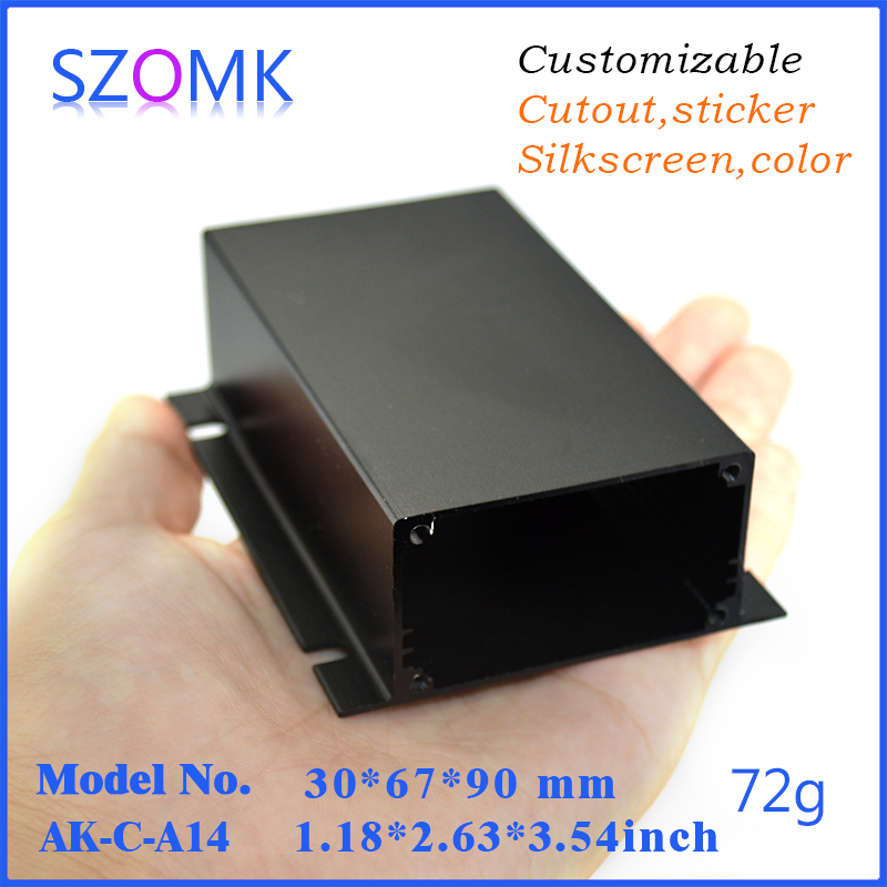⊱4 pcs, szomk aluminum box diy electronics enclosure outlet boxes ...
