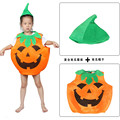 Halloween Children Pumpkin candy bag unisex girl boy Halloween costume magic wand classic party clothes holiday wear
