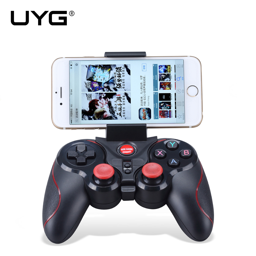 UYG S5 Wireless Bluetooth Joystick Gamepad Gaming Controller Remote Control for Android IOS Games Tablet TV