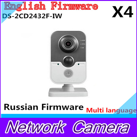 Free Shipping  DS-2CD2432F-IW ip camera 1080p 3mp Home CCTV Support SD card wifi POE cd диск fleetwood mac rumours 2 cd