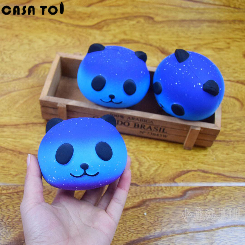 Squishy Cute Soft Panda Squeeze Starry Boot Ball Decompression Sticky Eliminate Stress Squishies Fun Squeeze Pets Friet Kit Toys