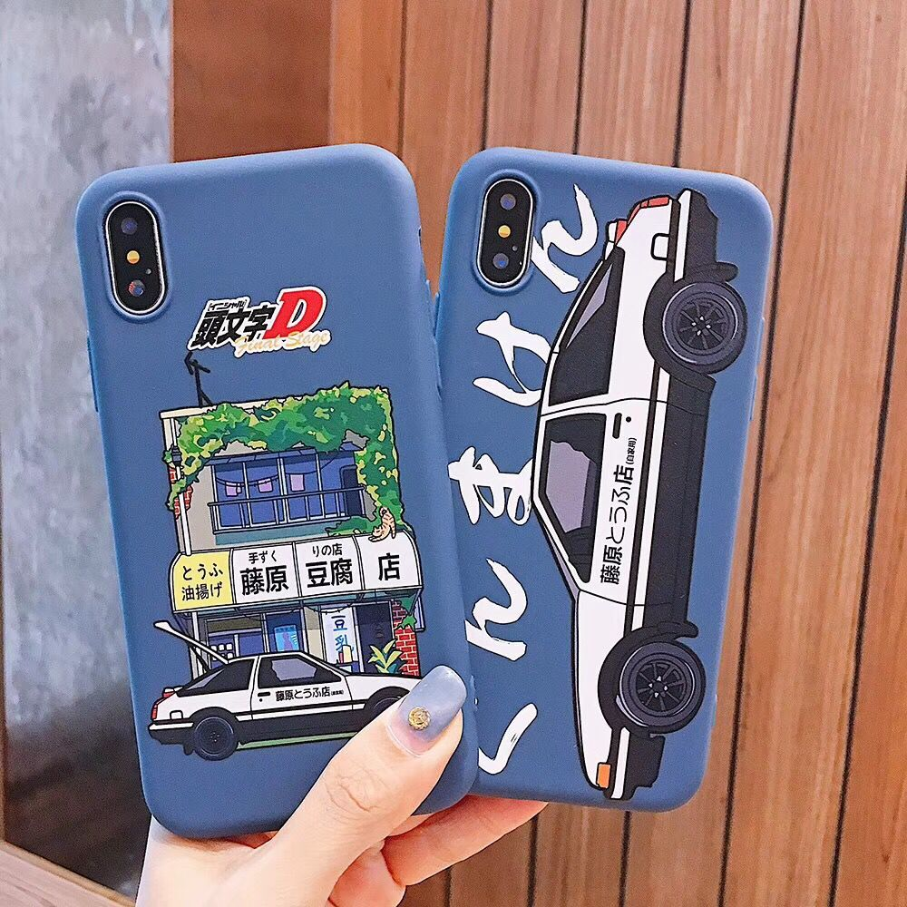 INITIAL D Super Car AE86 Phone Cover For IPhone 6 6s 7 8