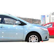Aliauto 10 x Lovely Bear Footprint Dog Footprint Car Sticker Decal for Accessories Toyota Ford Volkswagen