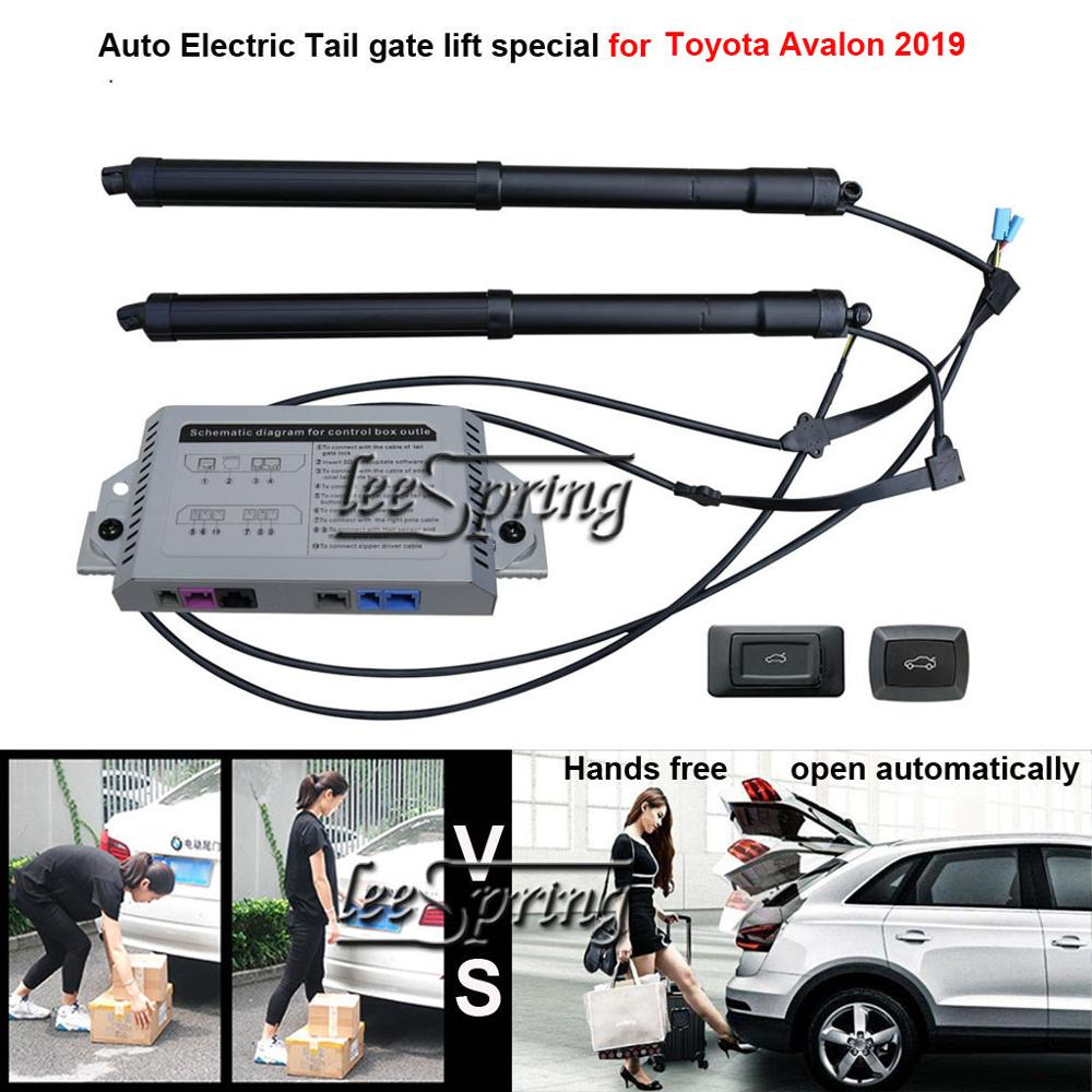 Smart Auto Electric Tail Gate Lift For Toyota Avalon 2019 Control Set Height Avoid Pinch