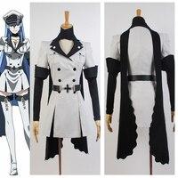 Akame ga KILL! Esdeath Empire General Apparel Cosplay Costumes For Women Custom Made Halloween