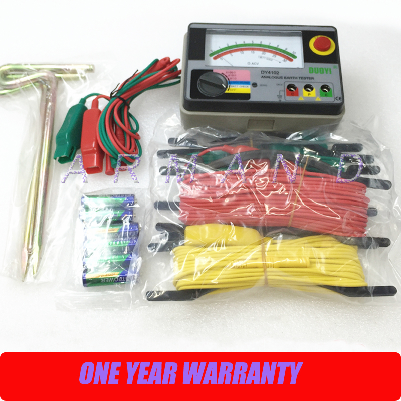 Здесь можно купить   DY4102 Analog earth resistance tester Строительство и Недвижимость