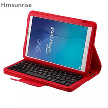 For Samsung Galaxy Tab e 9.6 Multifunction Removable Wireless Bluetooth Keyboard Case For Galaxy Tab e 9.6 T560 T561 Tablet(China)