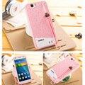 Huawei g7 caso de silício bonito dos desenhos animados 3d ice cream silicone suave casos de telefone tpu para huawei ascend g7 c199 caso tampa traseira Fundas