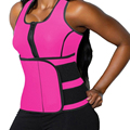 FLORATA Waist Trimmer Trainer Belt Women Shapewear Weight Loss Neoprene Sauna Tank Top Vest Body Shaper Slimming Fajas