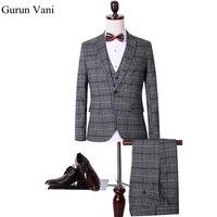 Jacket Pant Vest Custom Slim Fit Dress Man Business Suit Latest Coat Pant Designs Wedding