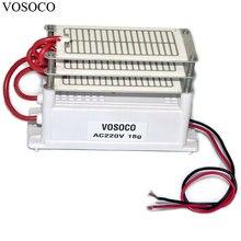 18 Гц/ч Портативный генератор озона DIY озонатор воздуха очиститель воды стерилизатор озона для обработки дополнение к формальдегида 220 В 130 Вт