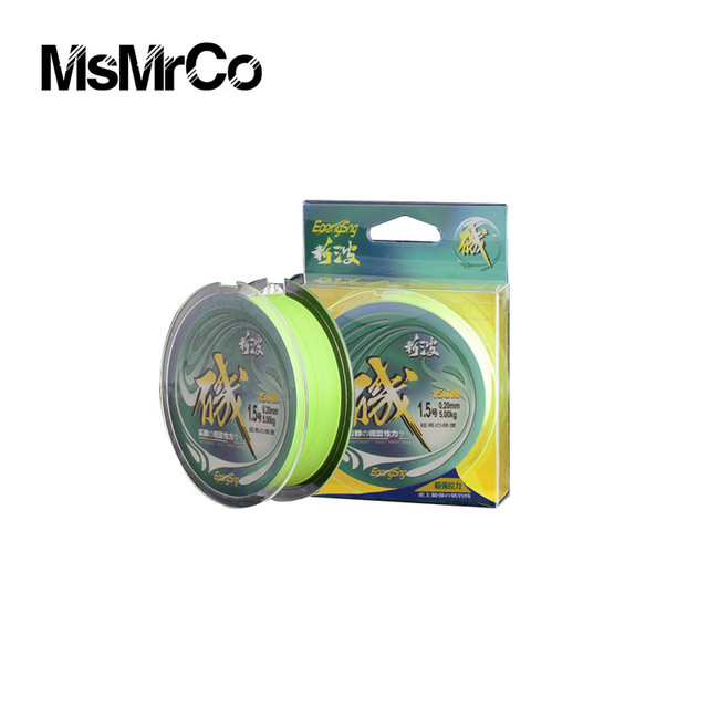 2017 New MsMrCo Monofilament Accessories 150m 0.23-0.45mm Nylon Original Wire Super Rally Fluorocarbon Tools Fly Fishing Line