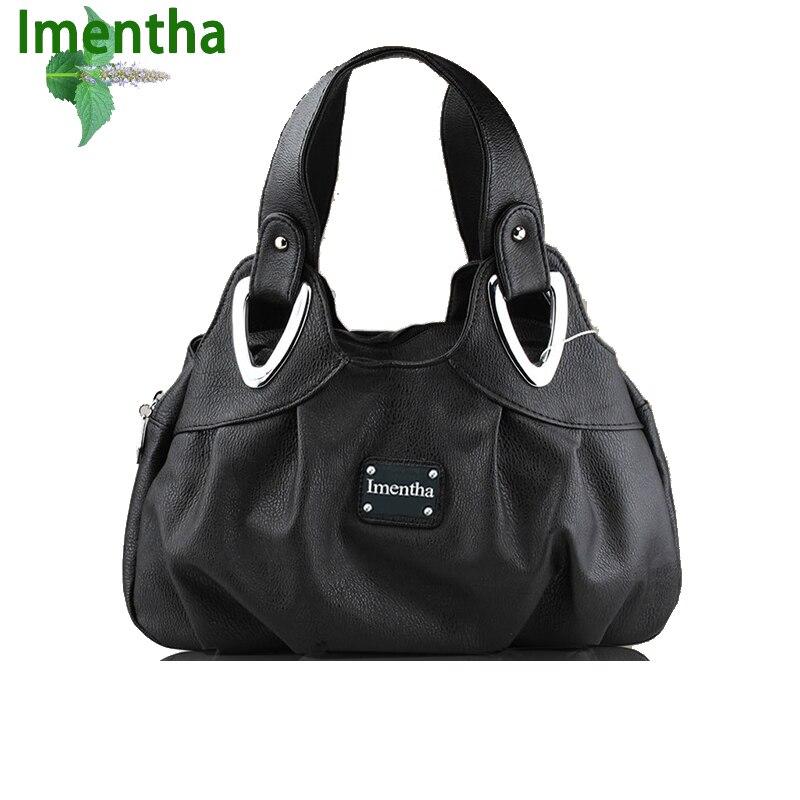 do sexo feminino bolsas pretas Dureza : Suave