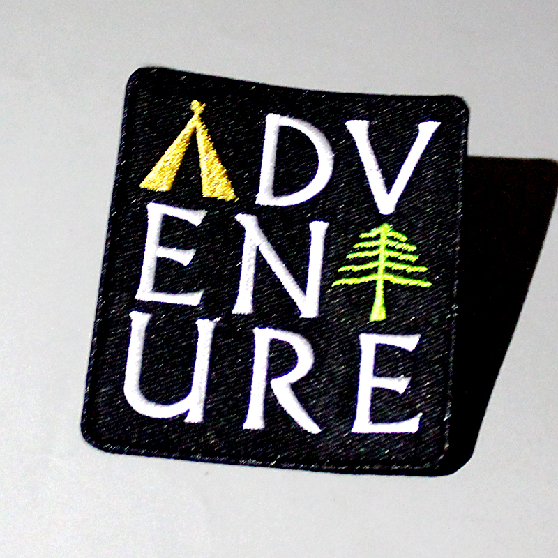 Vikings Patch Traveler Iron On Patches For Clothing Embroidery Wanderer Patch On Clothes Attack On Titan Badge Applique Stripe F in Patches from Home Garden