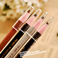 48pcs/lot Waterproof Eyebrow Pencil Make Up Pull eyebrow pencil ,subtle stereoscopic color,4 color available