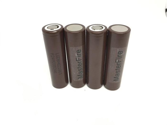 MasterFire 20PCS LOT New Original LG HG2 18650 3000mAh 3 7V Battery Max discharge 20A Dedicated electronic cigarette Batteries in Rechargeable Batteries from Consumer Electronics