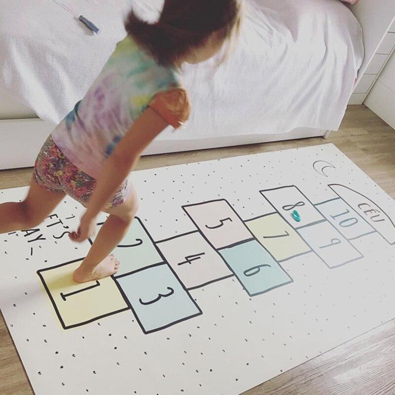 Enfants jeux de sol tapis garçons filles chambre plancher numérique dames tapis tapis bébé ramper salle décoration accessoires jouer tapis - 3