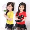 Kids T Shirt Tops Children Clothing boys T-Shirt Teenage girls Shirts Summer Girls T Shirt Enfant Fille cartoon