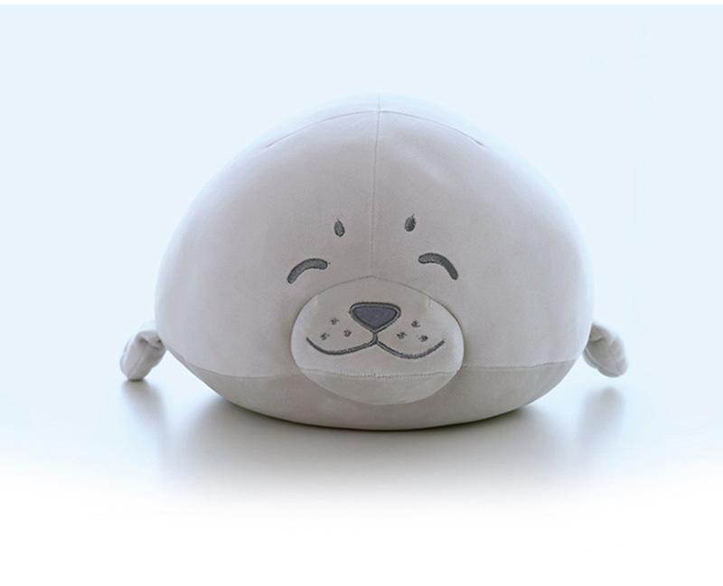 1pcs Cute Soft Animal Sea Lion Doll Baby Sleeping Pillow Marine Animals Seal Plush Toy Kids Stuffed Toys Gift (21)