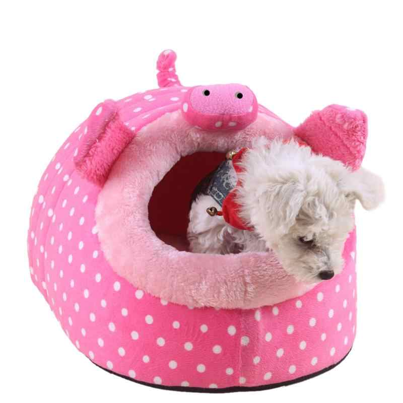 Thú Dễ Thương Lồng Hamster Chuột Lang Nhà Chinchillas Sóc Giường Tổ Cavy Mini Động Vật Hamster Phụ Kiện Da Báo Hồng