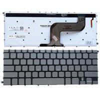 GZEELE US NEW Keyboard for Dell Inspiron 7437 N7437 14 7000 P42G US Laptop Keyboard Backlight English layout silver color