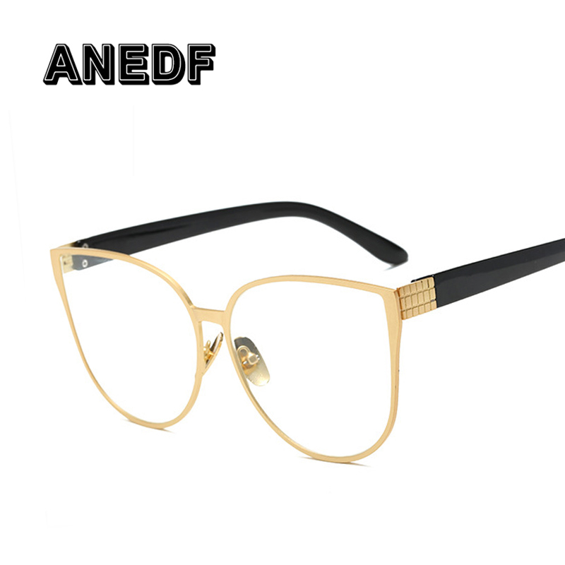 Hot Sale ANEDF Cat Eye Eyewear Frames Men Clear Lens Glasses Frame ...