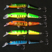 2 Segments Fishing Lure Set 14g 10.5cm Deep Swim Hard Baits Crankbaits For Fishing China Minnow Wobblers Fishing Accessories